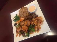 Shrimp & Chicken Hibachi